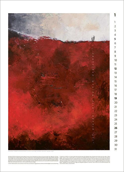 Kunst-Kalender Jahreslosung 2020 02