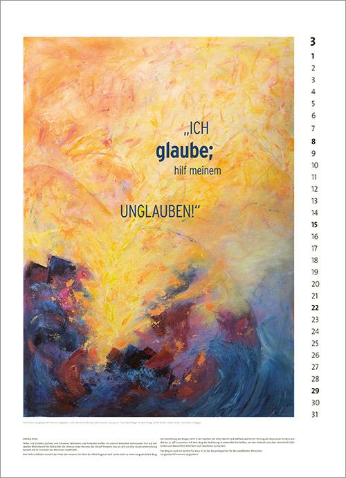 Kunst-Kalender Jahreslosung 2020 03