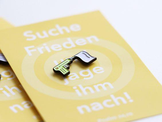 Jahreslosung 2019 Pin Anstecker