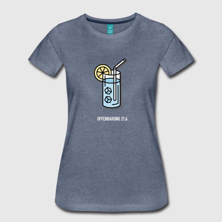 Jahreslosung 2018 Frauen T-Shirt