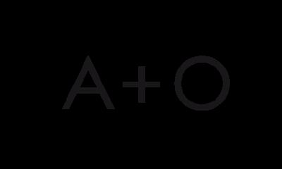 Logo A+O Visuelle Kommunikation