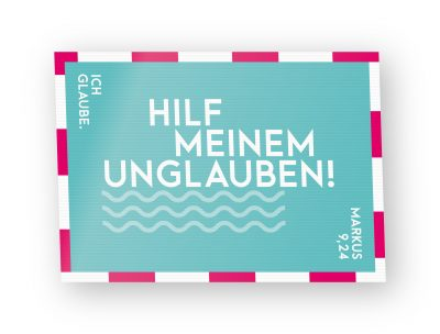 Jahreslosung 2020 Postkarte Lentikular 01