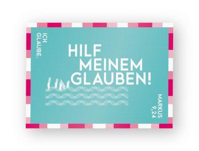 Jahreslosung 2020 Postkarte Lentikular 02