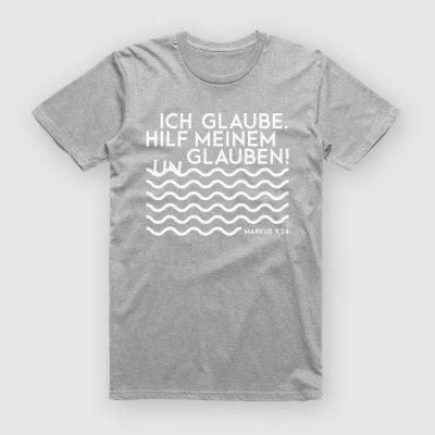 Jahreslosung 2020 T-Shirt Vers Grau
